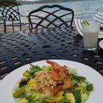 Avocado snapper with amazing view
