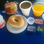 Continental breakfast.