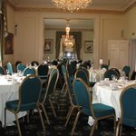 Ballroom ready for Afternoon Tea