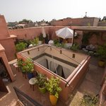 Riad roof terrace