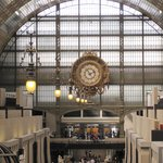 Main floor of Musee d'Orsay