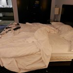 master bed  mattress low and uncomfy
