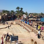Event in Dahab the elephant,took from the hotel
