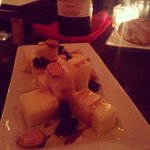 Marinated Manchego cheese plate