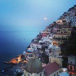 Full moon over Positano