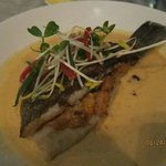 Their special Barramundi in coconut sauce - TO DIE FOR!!
