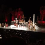 Opera at the greek theatre in Taormina