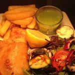 Our ever popular Fish & Chips!