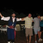 Greek dancing,fun for everybody!