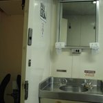 Stateroom sink and toilet