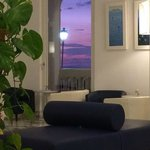 View from inside the lobby!