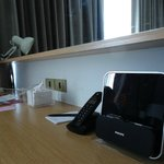 iPod docking station and 2 international adapters