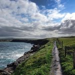 The Cliffs of Moher trail - a short walk from the hotel