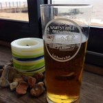 local beer by the sea
