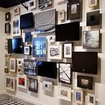 Interactive pictures wall