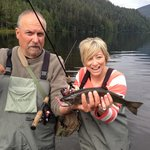 Great experience!  Heather caught the most and the biggest!  Amazing flight in and out.  Best tr
