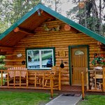Foto de Log Cabin Wilderness Lodge
