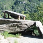 Jefferson Rock at Harper's Ferry