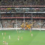 Hawthorn v Geelong. Last round of the regular season.