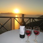 Sunset, Wine and top Balcony