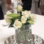 Lovely centrepieces.