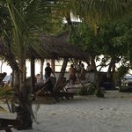 Beach bar from the Bungalow