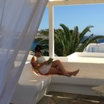 Foto de Manoulas Mykonos Beach Resort