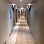 corridor to our room in the sixth floor