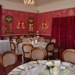 Wedding formal breakfast room