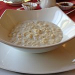 Freshly made yummy porridge with brown sugar ( whiskey an option ! )