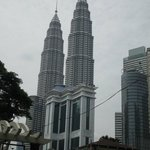 Picture of Petronas Towers.