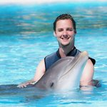 Swimming with the dolphins!