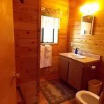 cabin 9 bathroom
