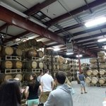Tasting and cask room