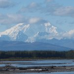 On a clear day you can see this from Anchorage