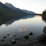 Jenny Lake in the Early Evening