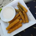 Mozzerella and Zuchinni fried sticks app.