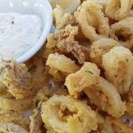 Close up of those scrumptious Calamari
