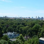 View of Munich and Englischer Garten from room