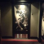 The door to our room - very cool!