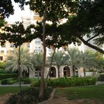 ground floor suite rooms and hotel grounds