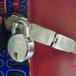 Traditional Bedroom Lock (External View)
