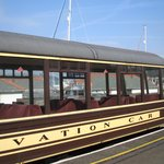 Dartmouth Stream Railway Observation carriage