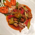 Sweet and sour Pork yummy