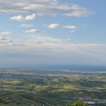 View from top of San Marino