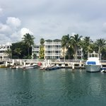 Part of the property from across the harbor. Location was great to board the Fury snorkeling cat