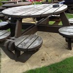 Tired looking garden furniture needs attention letting a fantastic garden down