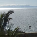 Sea view from room - La Gomera in background