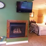 Fireplace in the Green Room