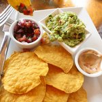 Chips & Guac for lunch appetizer